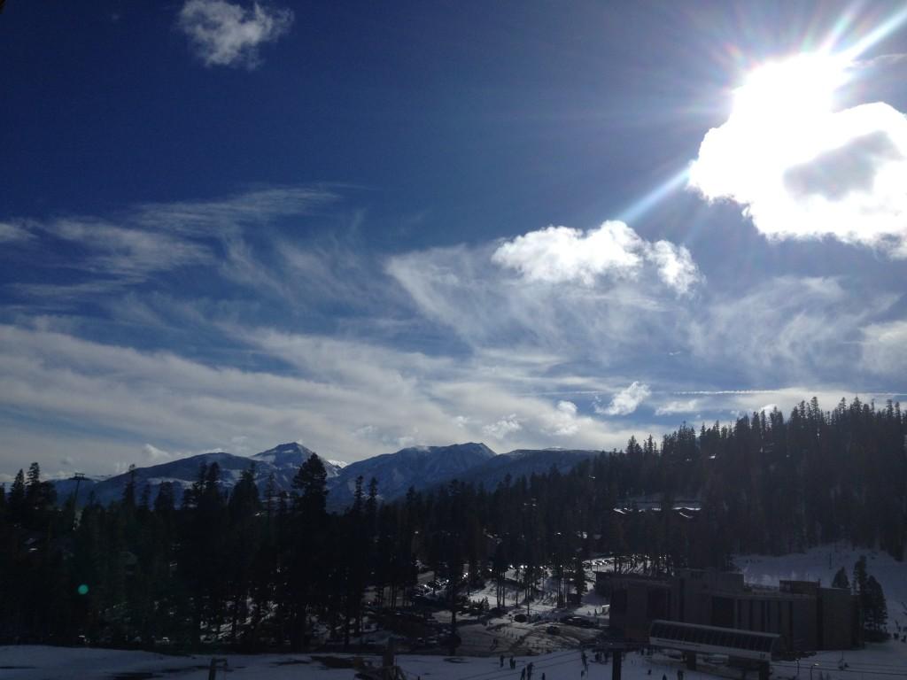 Eastern Sierra Snowstorm