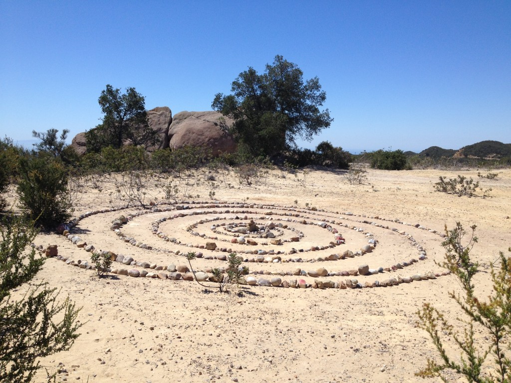 Zen Circle on the Way to Jim Morrison Cave