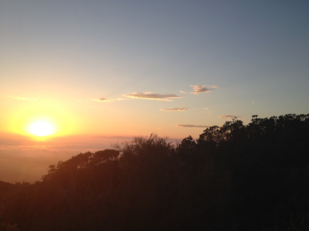 Sunset from Conejo Peak